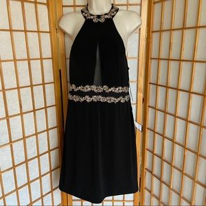 Black City Studio Halter Dress size 15